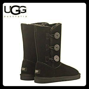 Womens UGG Winter Boots_Black